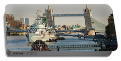 Hms Belfast London Portable Battery Charger