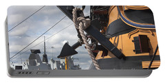 Hms Diamond And Hms Victory Portable Battery Charger