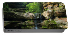Hocking Hills Waterfall 1 Portable Battery Charger