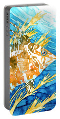 Hogfish Portrait Portable Battery Charger