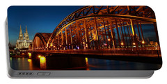 Hohenzollern Bridge Portable Battery Charger