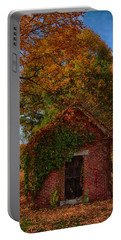 Portable Battery Charger featuring the photograph Holding Up The  Fall Colors by Jeff Folger