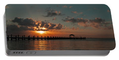 Holgate Bay Sunset Portable Battery Charger