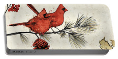 Holiday Gem II Portable Battery Charger by Janelle Penner