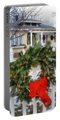 Holiday In The Neighborhood Portable Battery Charger