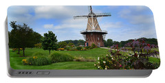 Holland Michigan Windmill Landscape Portable Battery Charger