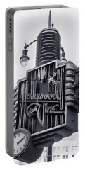 Hollywood Landmarks - Hollywood And Vine Sign Portable Battery Charger by Art Block Collections