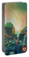Hollywood Sunshower Portable Battery Charger by Bonnie Lambert