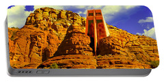 Holy Cross Chapel Coconino National Forest Portable Battery Charger