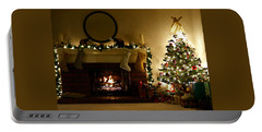 Home For The Holidays Portable Battery Charger