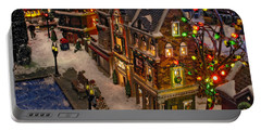Portable Battery Charger featuring the photograph Home For The Holidays by GJ Blackman