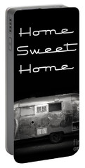 Home Sweet Home Vintage Airstream Portable Battery Charger