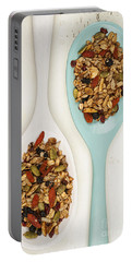 Homemade Granola In Spoons Portable Battery Charger
