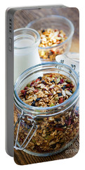 Homemade Toasted Granola Portable Battery Charger