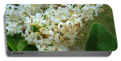 Portable Battery Charger featuring the photograph Honeysuckle #1 by Robert ONeil