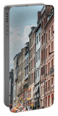 Portable Battery Charger featuring the photograph Honfleur II by Tom Prendergast