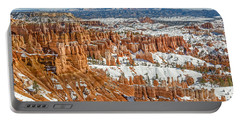 Hoodoos At Sunset Point Portable Battery Charger