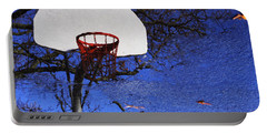 Hoop Dreams Portable Battery Charger by Jason Politte