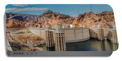 Hoover Dam Reservoir Portable Battery Charger