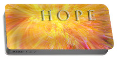 Portable Battery Charger featuring the digital art Hope by Margie Chapman