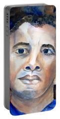 Hopeful - President-elect Portable Battery Charger by Carlin Blahnik