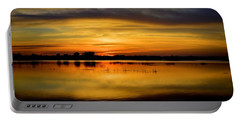 Horizons Portable Battery Charger by Bonfire Photography