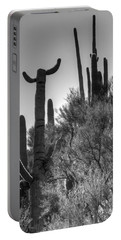 Horn Saguaro Cactus Portable Battery Charger