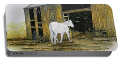 Horse And Barn Portable Battery Charger