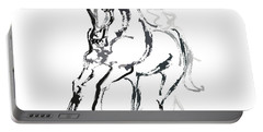 Horse- Andalusian Angel Portable Battery Charger