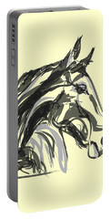 horse - Apple digital Portable Battery Charger by Go Van Kampen