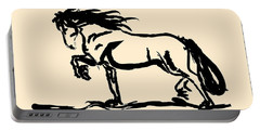 Horse - Blacky Portable Battery Charger