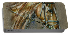 My Horse Face Drawing Portable Battery Charger