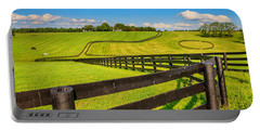 Horse Farm Fences Portable Battery Charger