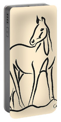 Horse - Grace Portable Battery Charger by Go Van Kampen