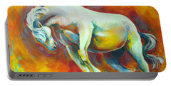 Horse On Fire Portable Battery Charger