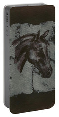 Horse Portrait Portable Battery Charger