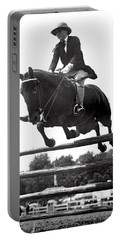 Horse Show Jump Portable Battery Charger