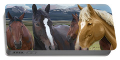 Horse Talk Portable Battery Charger