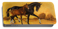 Horse - Together 2 Portable Battery Charger by Go Van Kampen