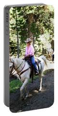 Horseback Riding At Kirkwood, Ca Portable Battery Charger
