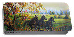 Horses Portable Battery Charger