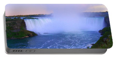 Horseshoe Falls Sunset In The Summer Portable Battery Charger