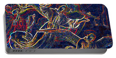 Portable Battery Charger featuring the digital art Host Of Angels By Jrr by First Star Art