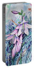 Hosta's In Bloom Portable Battery Charger