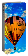 Hot Air Ballon Farmer's Insurance Portable Battery Charger