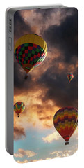 Hot Air Balloons - Chasing The Horizon Portable Battery Charger
