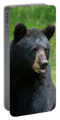 Hot Day In Bear Country Portable Battery Charger