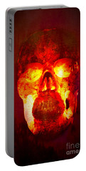 Hot Headed Skull Portable Battery Charger