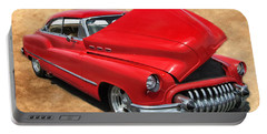 Hot Rod Buick Portable Battery Charger by Victor Montgomery