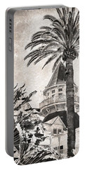 Portable Battery Charger featuring the photograph Hotel Del Coronado by Peggy Hughes